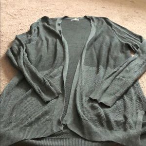 Maurices brand // grey duster cardigan // Size XL